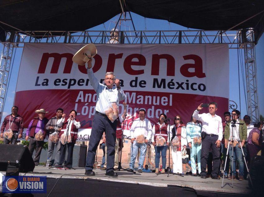 Obrador recorrió hoy Zacapu, Zamora y Puruandiro - El Diario Visión (Comunicado de prensa)