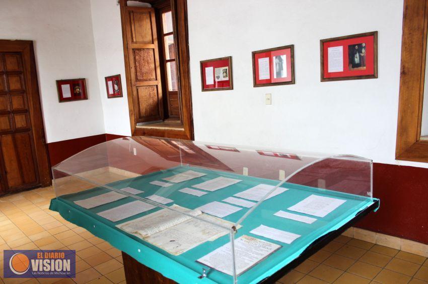Presentan muestra iconográfica de Don Vasco de Quirogas