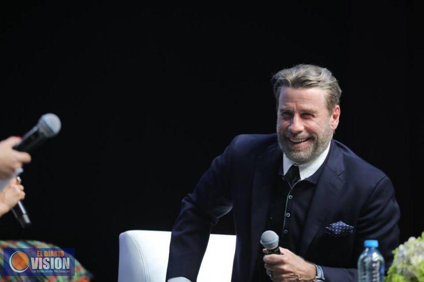 La Entrevista Con John Travolta En El Evento México Siglo