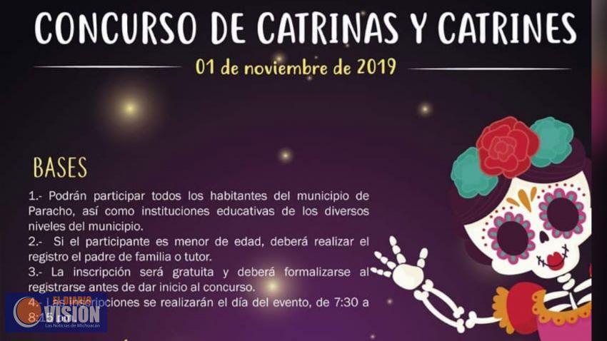 El Ayuntamiento de Paracho, invita al concurso de catrinas y catrines. - El Diario Visión